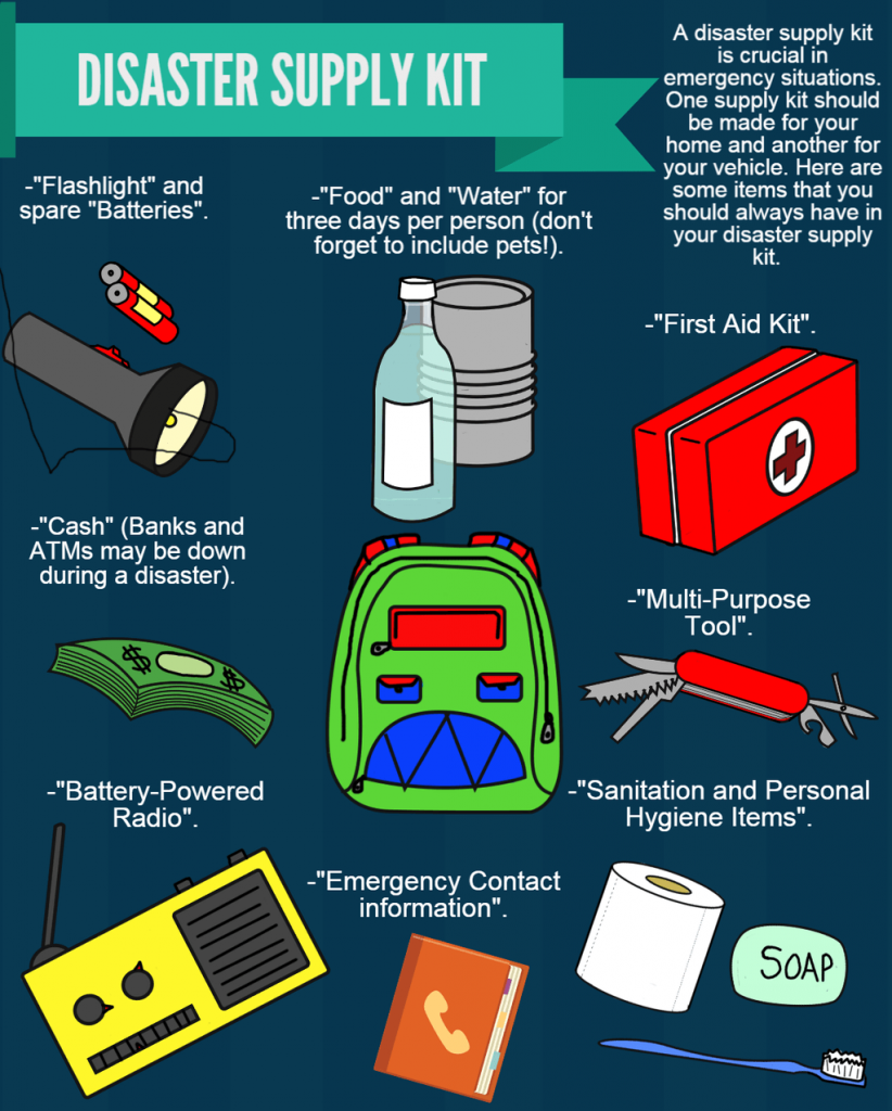 disaster preparedness advice from a first responder efr care